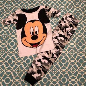 Disney Mickey Pajamas Size 4T